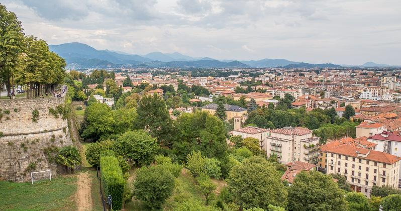 Bergamo – Citta Alta i Bassa