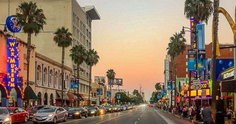Dzień w Hollywood