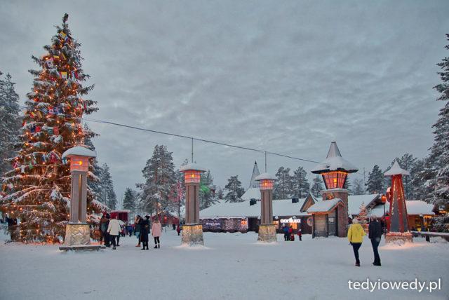 Rovaniemi - wizyta u Świętego Mikołaja